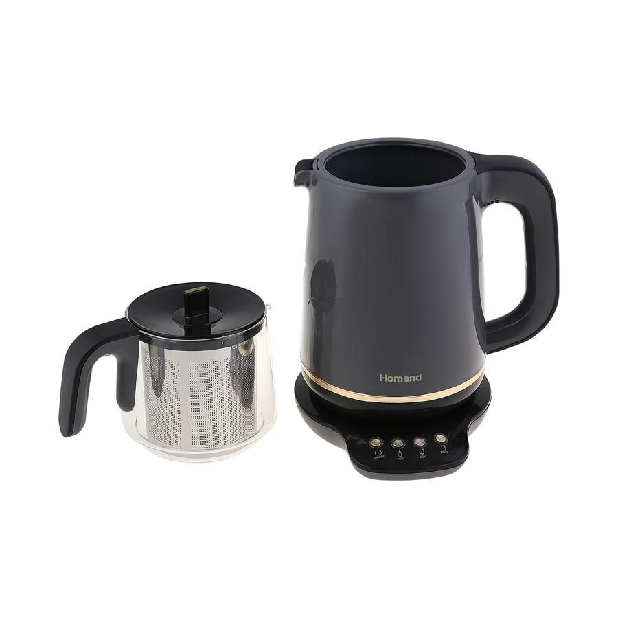 Homend Royaltea 1762h Konuşan Çay Makinesi Antrasit