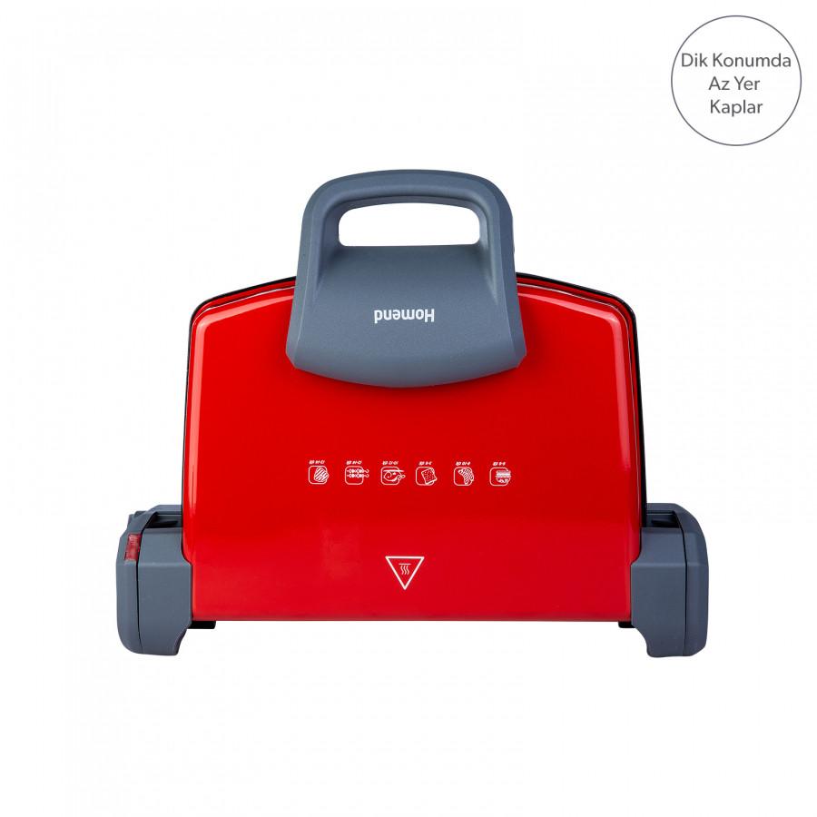 Homend Toastbuster 1331h Kırmızı Tost Makinesi