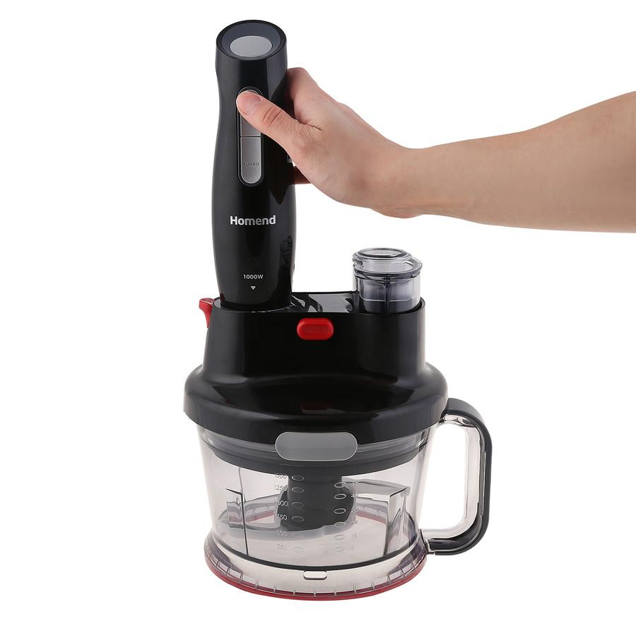 Homend Functionall 2840h Mutfak Robotu Siyah