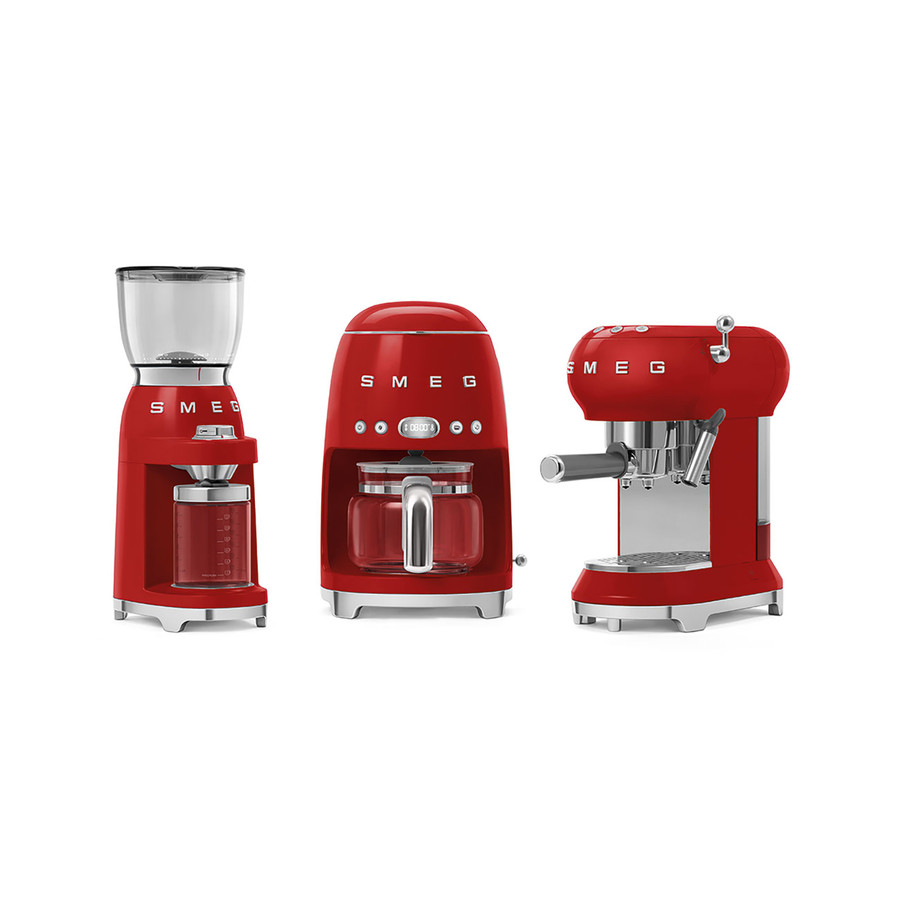 Smeg Kahve öğütme Makinası Red Cgf01rdeu