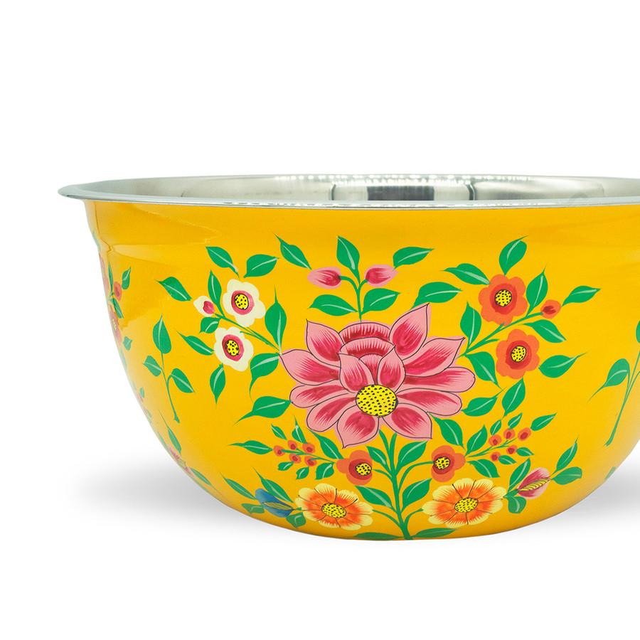 3RD Culture Sarı Lotus Kase